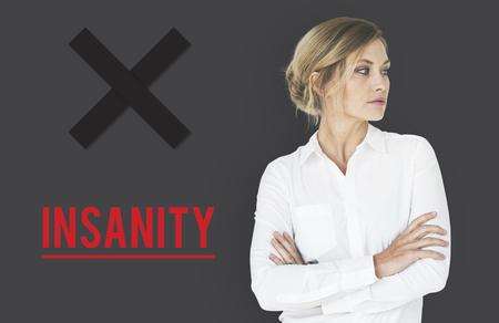 Insanity Mad Psyco Crazy Irresponsibility Mental Health