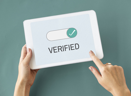 Verified Allowance Approval Permit Authority Stok Fotoğraf
