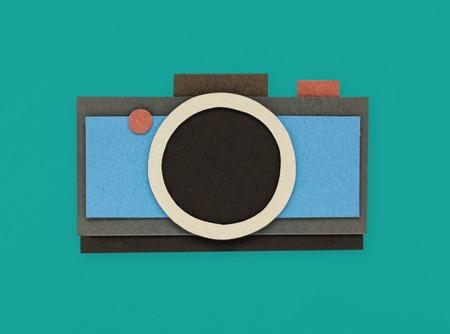 Camera icon symbol equipment lifestyle