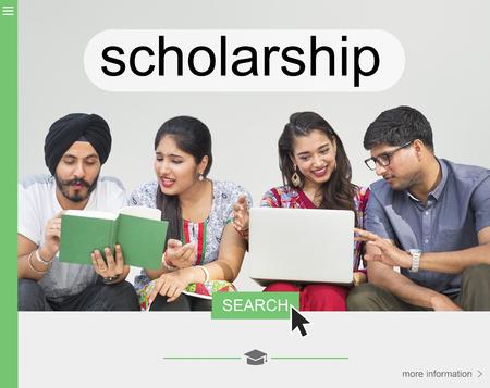 Scholarship Award College Achievement Academic Stock Photo
