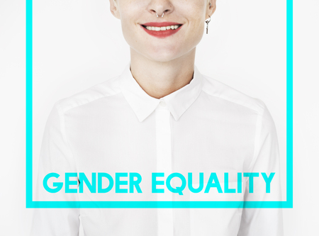 Woman Equality Gender Rights Liberation Stock Photo