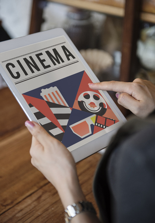 Cinema film industry media entertainment composition