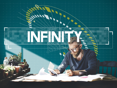 Time Unlimited Infinity Ability Challenge Graphic 版權商用圖片