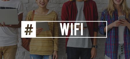techie: Amusement Browser Techie Wifi Cloud Stock Photo