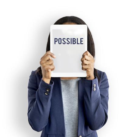 Possibilité Icône de probabilité souhaitable Banque d'images - 79402579