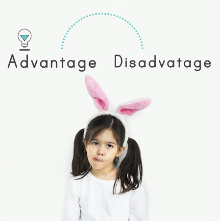 disadvantage: Antonym Opposite Increase Decrease Advantage Disadvantage