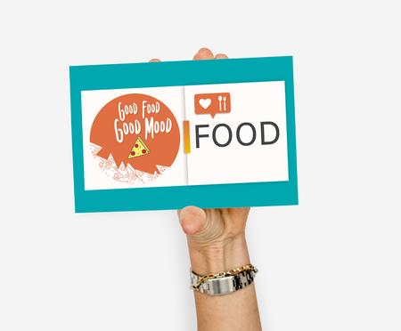 Good food good mood concept 版權商用圖片