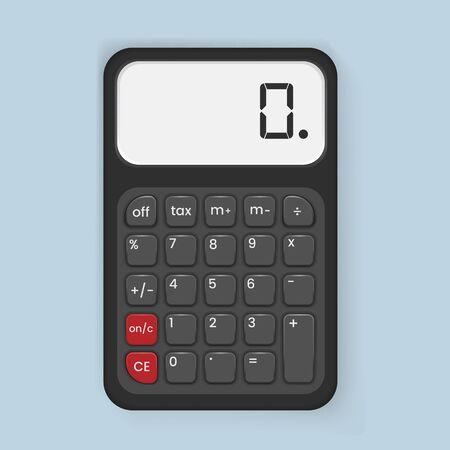 Calculadora icono ilustración vectorial Foto de archivo - 79385120
