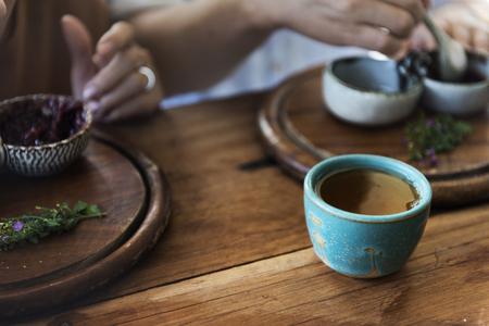 Drinken Barista Cafe Cafeïne Drinken Ontspanning Stockfoto