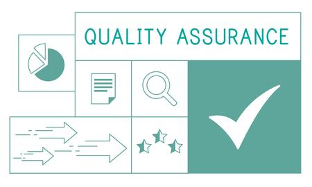Illustration de la qualité de garantie de qualité de l & # Banque d'images - 79623200