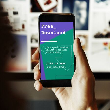 Free Download Latest Update Application Concept 版權商用圖片
