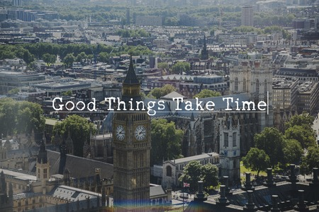 retry: Good Things Take Time Never Give Up Try Stock Photo