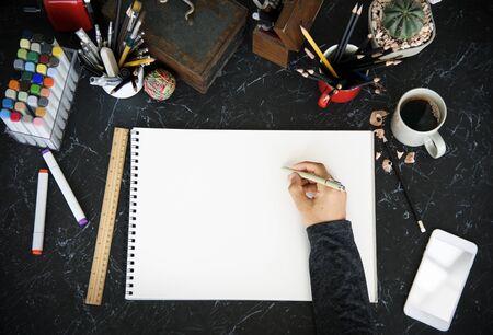Art Drawing Sketchbook Blanco pagina