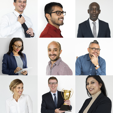 Collection of business people success and achievement Stock Photo - 79587385