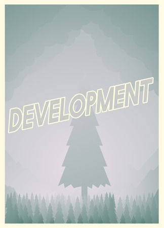 Development text design