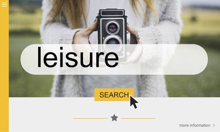 Leisure Simplicity Hobbies Interest Possibility Concept Stock Photo