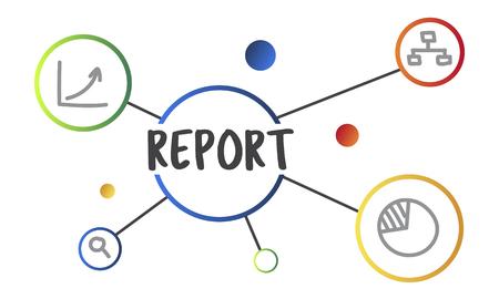 연구 보고서 요약 그림 그래픽 개념