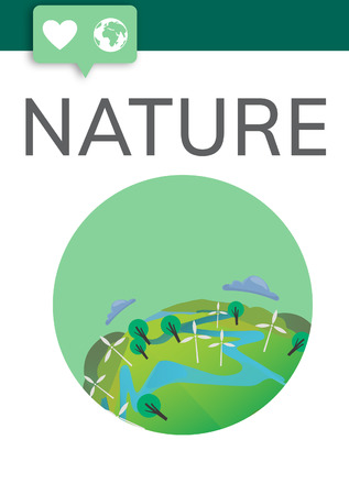 Nature concept Banco de Imagens