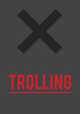 Cyber Bullying Abusement Harassment Trolling 版權商用圖片