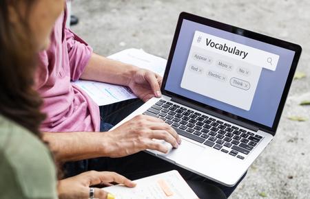 어휘 학습 학습 설명 스톡 콘텐츠 - 79643433