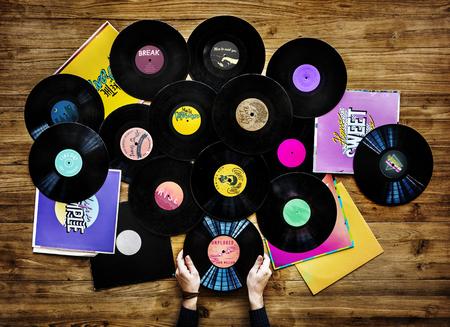 両手音楽コレクター レコード