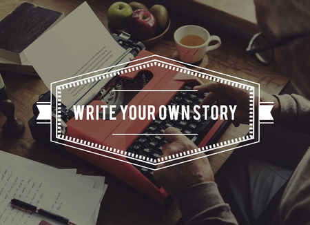 年配の成人男性の彼自身の物語の物語を伝えます