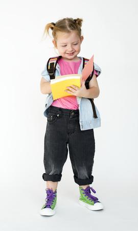 Studio People Kid Model Shoot Race 版權商用圖片
