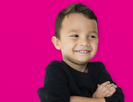 A little boy is really confidence Stock Photo - 79636664