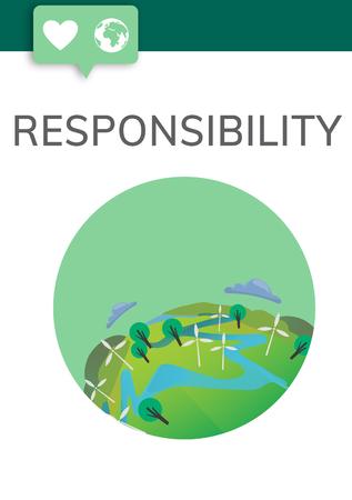 Responsibility concept Banco de Imagens