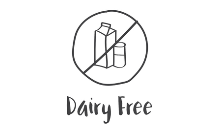 Dairy Free Healthy Lifestyle Concept
