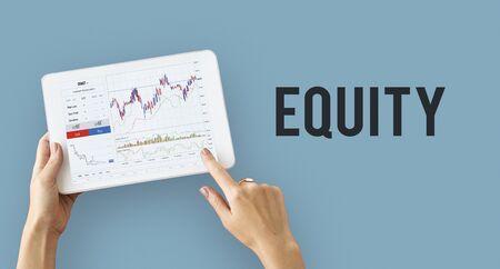 금융 외환 비즈니스 차트 보고서
