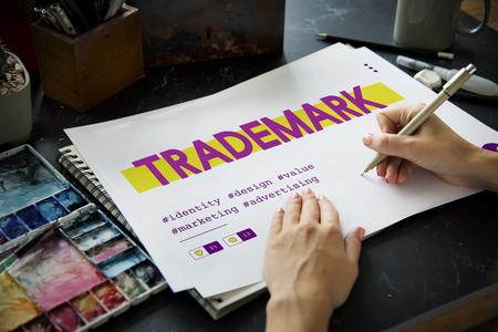 Product Ontwerp Copyright Patent van het Handelsmerk van het Handelsmerk van het merk