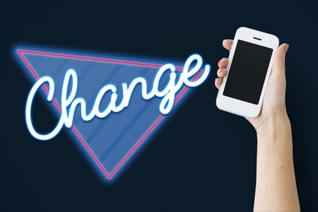 Change Improvement Opportunity Process Word Stock Photo
