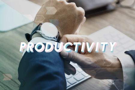 생산성을 극대화하는 생산성 관리 스톡 콘텐츠