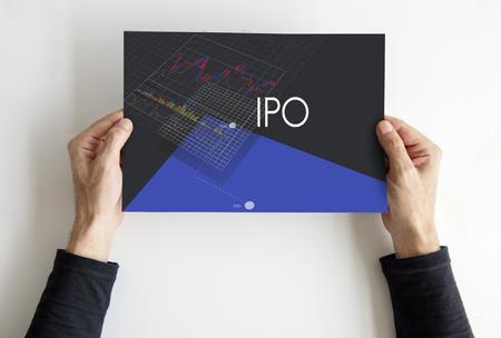 Forex Trade Investment Funds Grafiek Stockfoto - 82478473