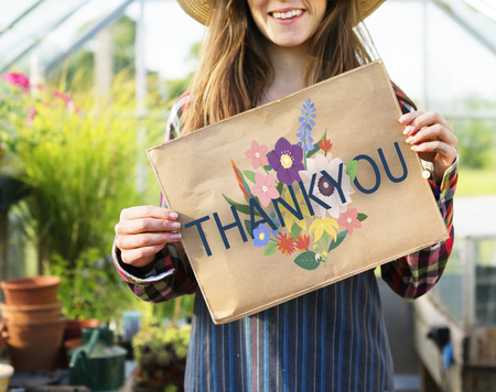 Thank You Appreciation Greatful Happy Stock Photo