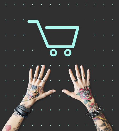 Shopping Cart Commerce Graphic Symbol Icon