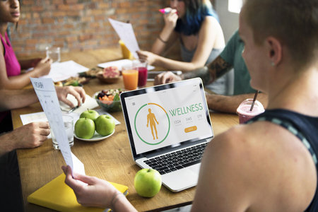 daily life: Wellness Wellbeing Health Monitoring Calories