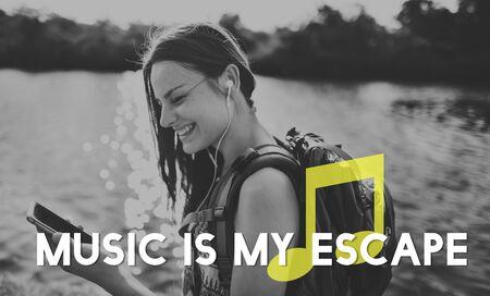 music lyrics: Listen Music Entertain Melody Harmony