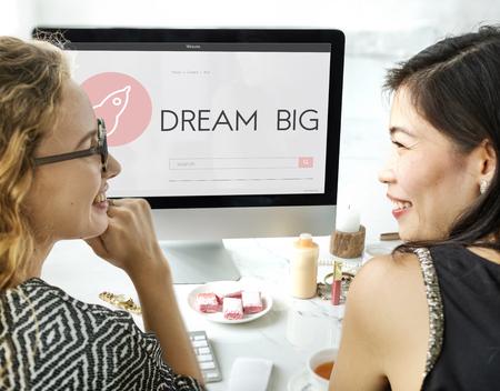 Dream Big New Business Launch Plan Concept