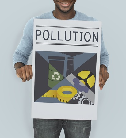 公害伝染危険有毒な概念