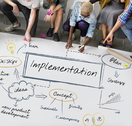 People with implementation concept