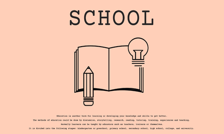 School concept 版權商用圖片