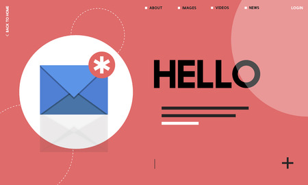 Message Letter E-Mail Chat Notification Graphic