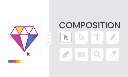 Graphic Design Icon Creative Style Banco de Imagens - 80183845
