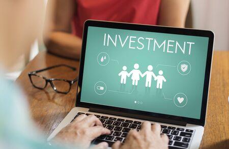 Insurance Coverage Mix Reimbursement Protection Concept Reklamní fotografie