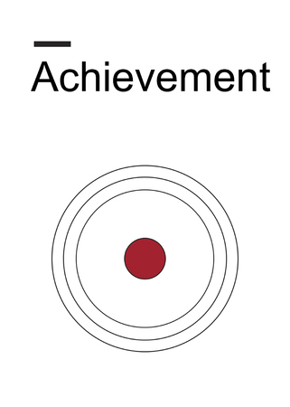 Achievement Aim Focus Goals Performance Plan Imagens