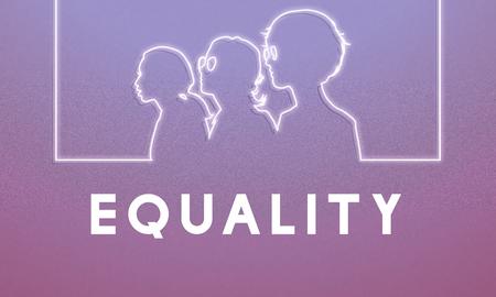 女性権利平等解放女性グラフィック