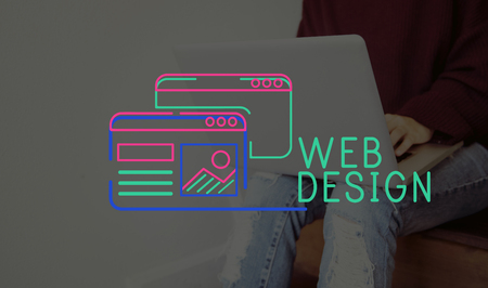 Website Design Content Layout Graphic Stock Photo - 80176634
