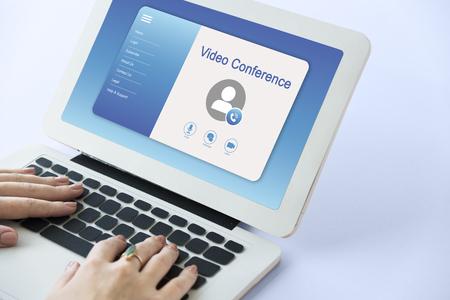 온라인 화상 통화 프로파일 인터페이스